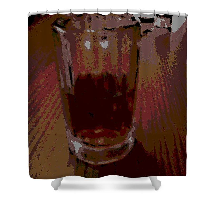 Drink Shower Curtain featuring the photograph Drink by George Pedro