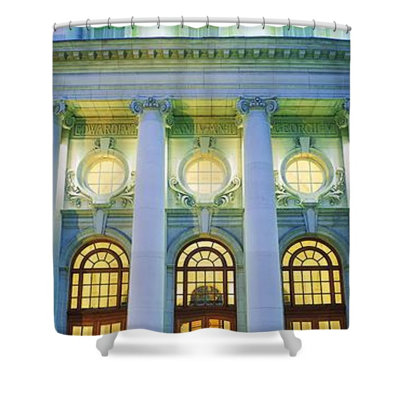 Balcony Shower Curtain featuring the photograph Dublin, Co Dublin, Ireland Government by The Irish Image Collection