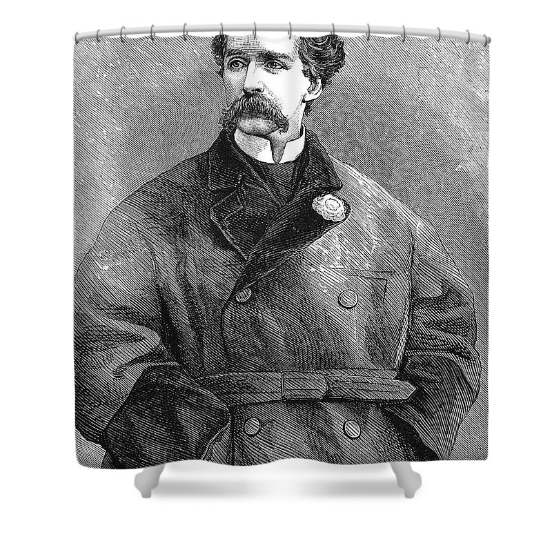 19th Century Shower Curtain featuring the photograph Edward Sothern (1826-1881) by Granger