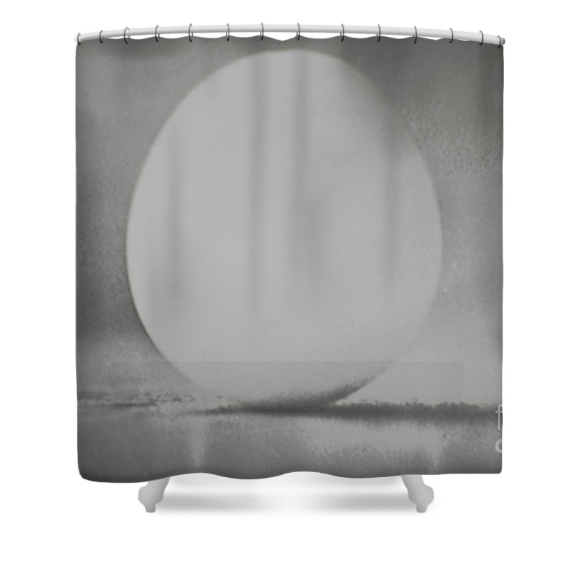Vernal Shower Curtain featuring the photograph Egg Of The Vernal Equinox by Tom Luca