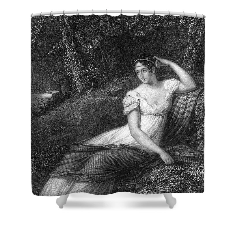 19th Century Shower Curtain featuring the photograph Empress Josephine by Granger