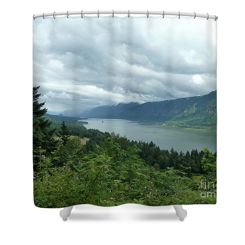 Landscape Shower Curtain featuring the photograph Endless by Lauren Leigh Hunter Fine Art Photography