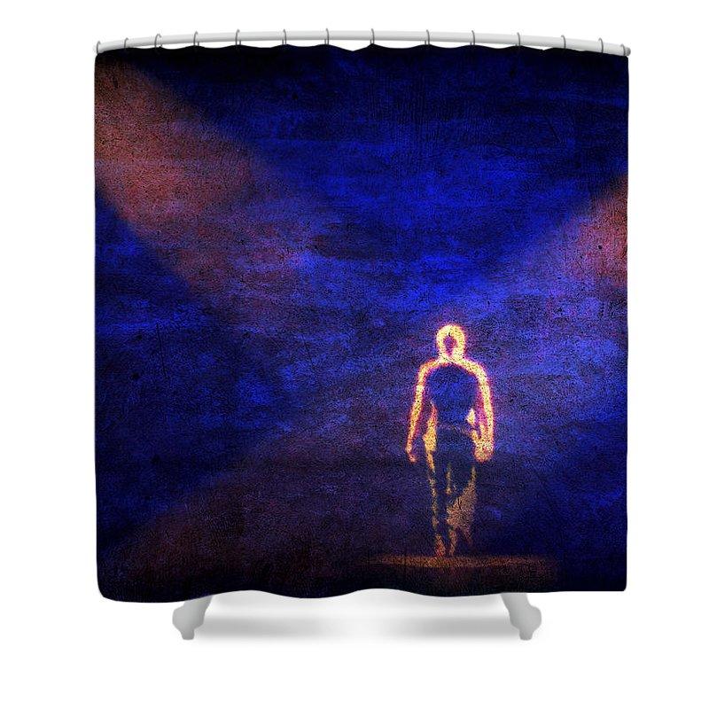 Enrique Iglesias Shower Curtain featuring the photograph Enrique by Julie Niemela