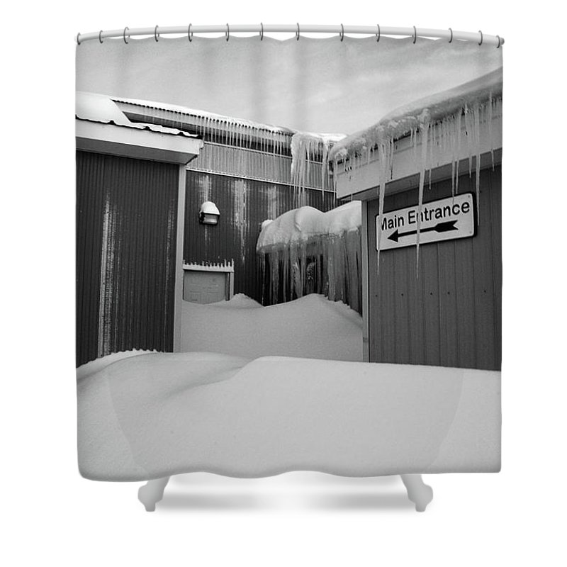 Architecture Shower Curtain featuring the photograph Entry To Narnia by Susan Capuano