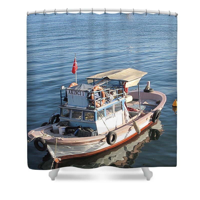Istanbul Shower Curtain featuring the photograph Evening Repose by Ian MacDonald
