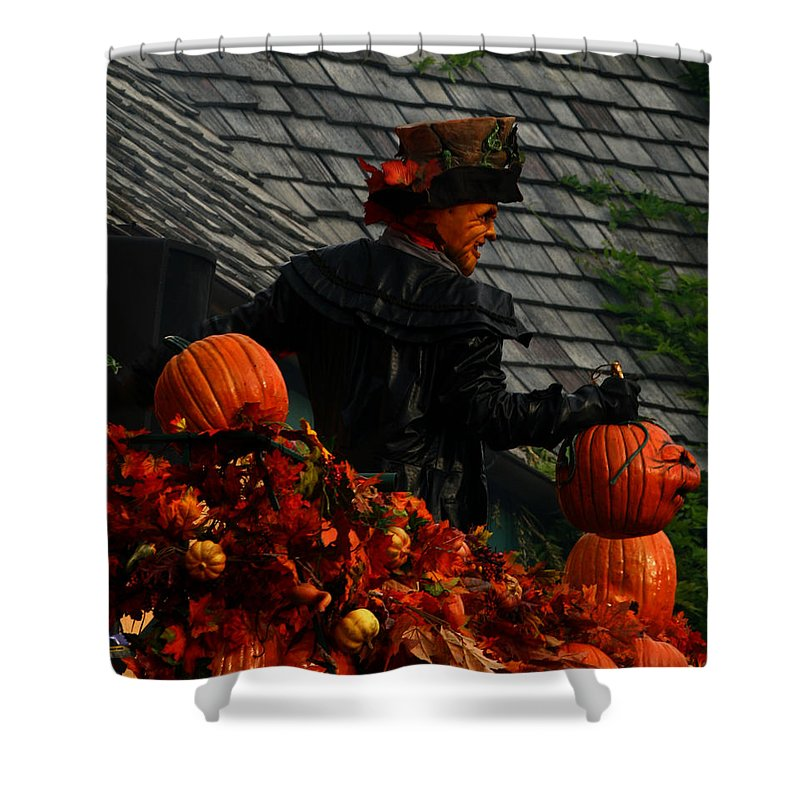 Celebration Shower Curtain featuring the photograph Fall Celebration by Karen Harrison