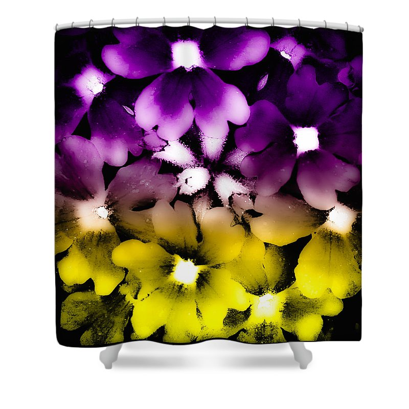 Flax Shower Curtain featuring the photograph Fantasy Flax by David Patterson