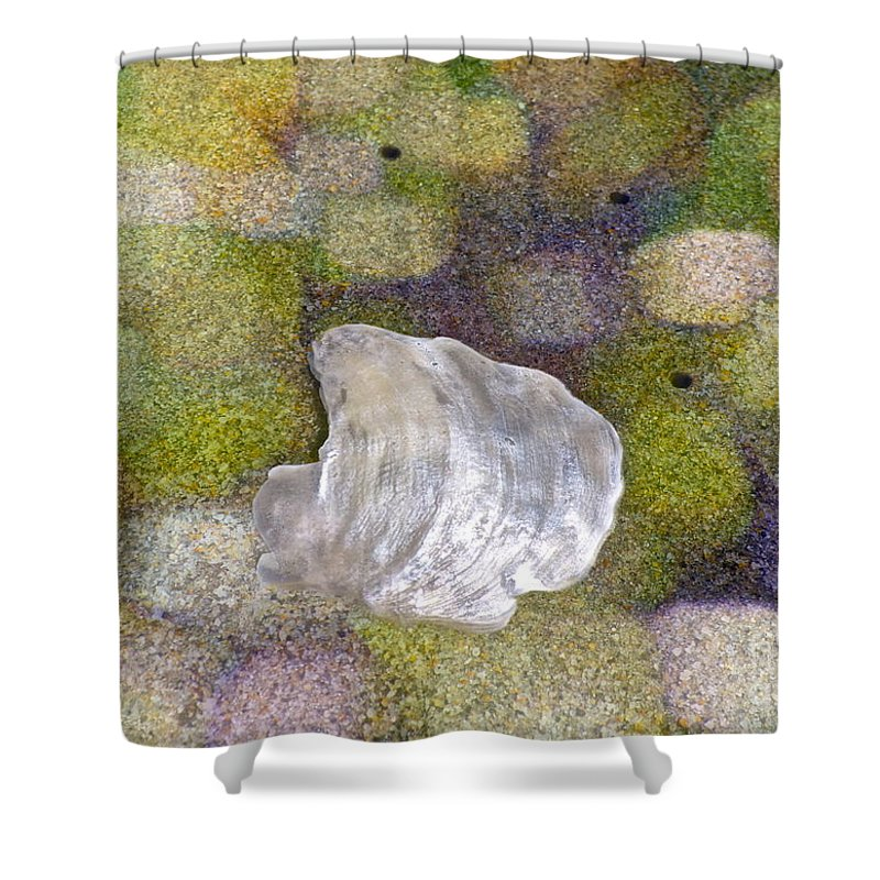 Sand Shower Curtain featuring the photograph Feeling Encompassed by Gwyn Newcombe