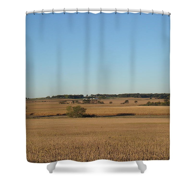 Fields Shower Curtain featuring the photograph Field Of Dreams by Bonfire Photography