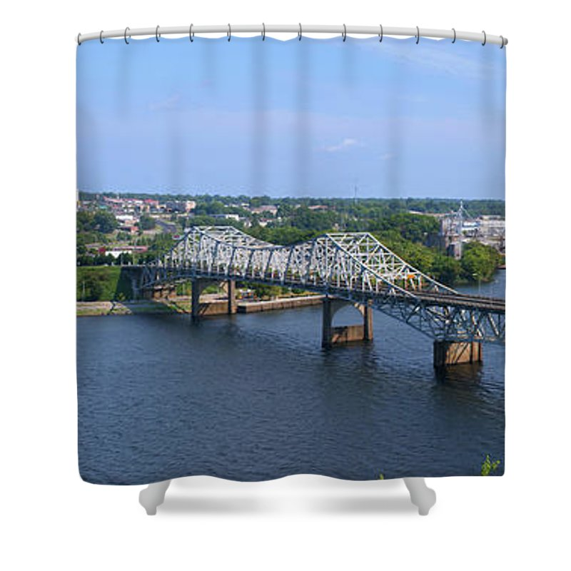 Florence Shower Curtain Featuring The Photograph Florence Alabama By Paul  Mashburn