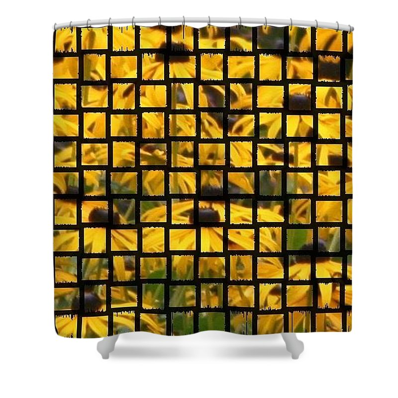 Photo Shower Curtain featuring the photograph Flower Bin by Barbara S Nickerson