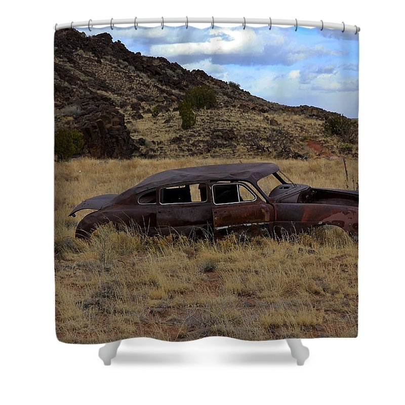 Classic Shower Curtain featuring the photograph Forgotten Classic by Steve McKinzie