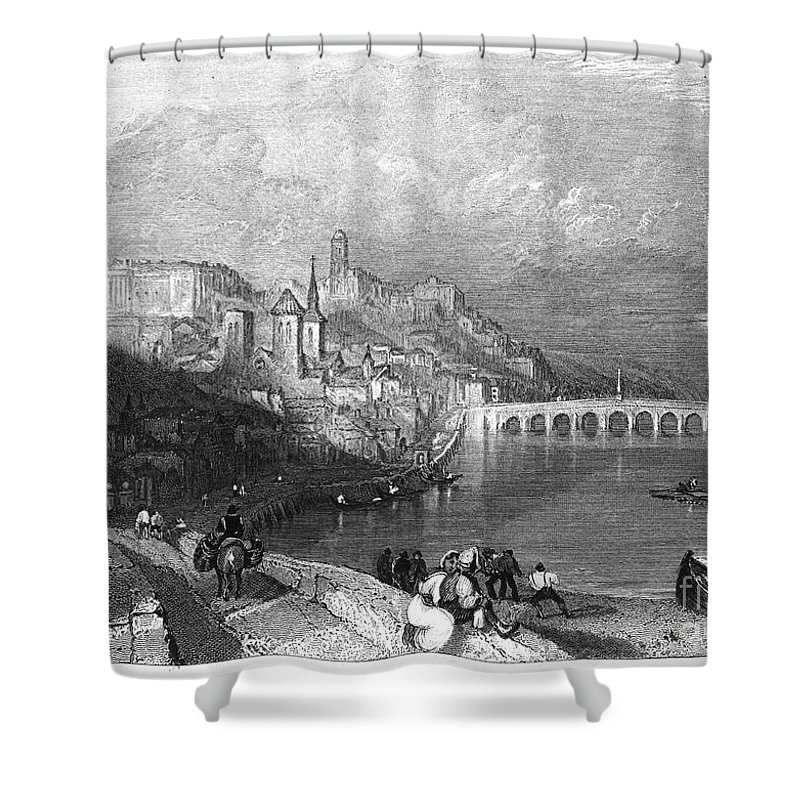 1835 Shower Curtain featuring the photograph France: Blois by Granger