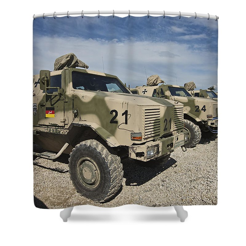 Armored Vehicles For Sale >> German Army Atf Dingo Armored Vehicles Shower Curtain