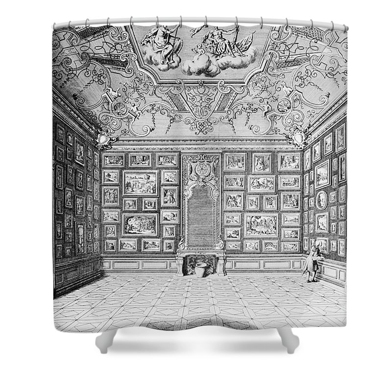 1731 Shower Curtain featuring the photograph Germany: Gallery, 1731 by Granger