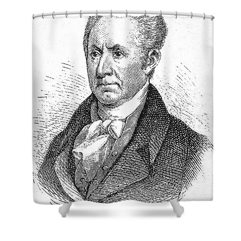 18th Century Shower Curtain featuring the photograph Gilbert Stuart (1755-1828) by Granger