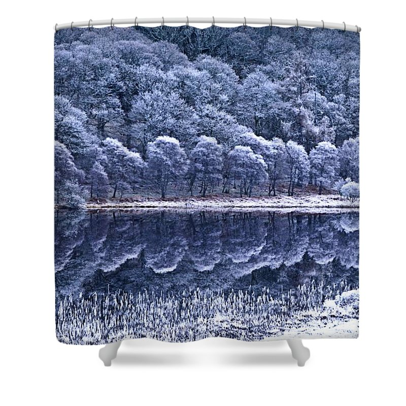 Frost Shower Curtain featuring the photograph Glendalough National Park, County by Richard Cummins