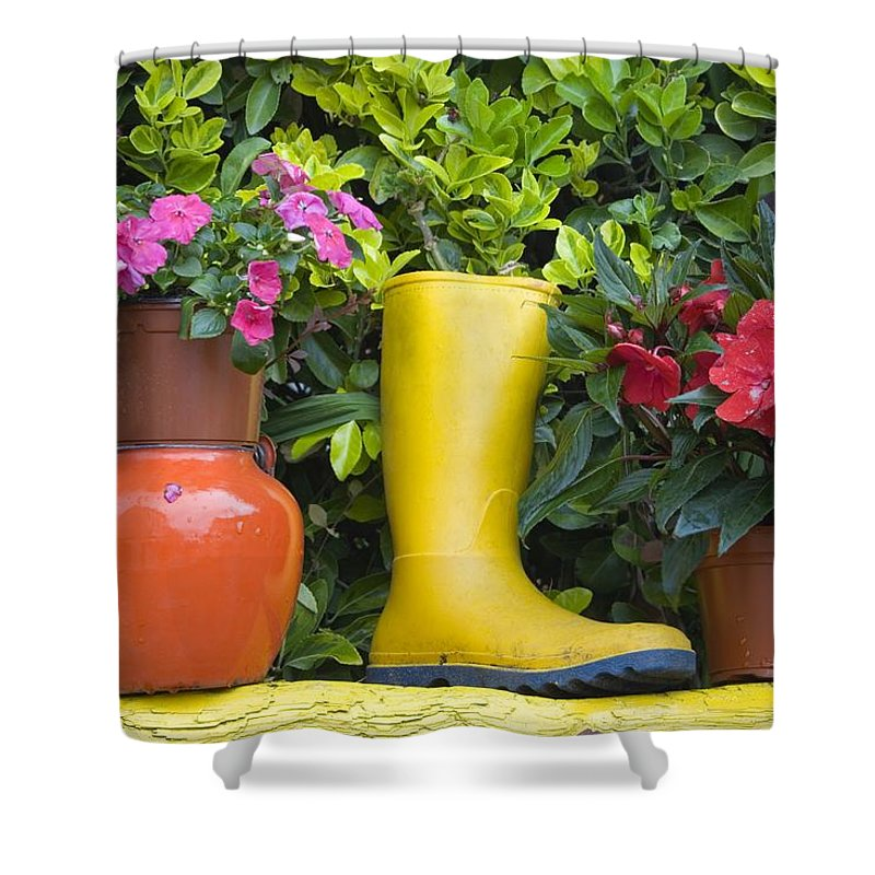 Boot Shower Curtain featuring the photograph Glengarriff, County Cork, Ireland by Richard Cummins