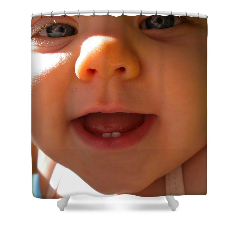 Baby Shower Curtain featuring the photograph Gonna Getcha by Renate Nadi Wesley