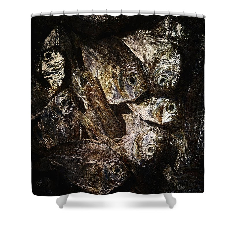 Abstract Shower Curtain featuring the photograph Goodness by Skip Nall