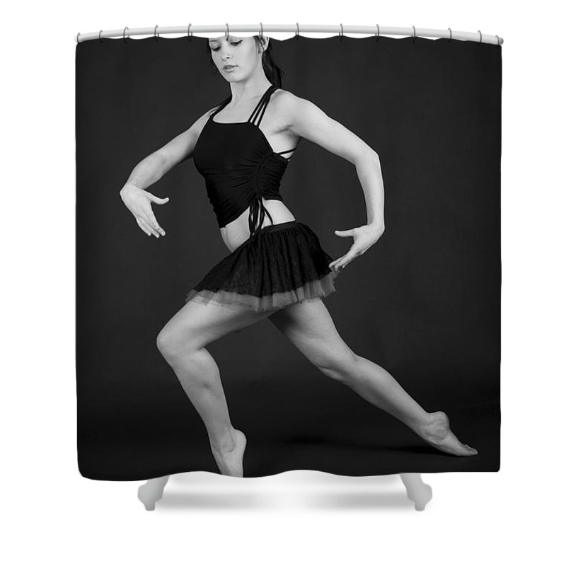 Aberdeen Shower Curtain featuring the photograph Grace And Power by Howard Kennedy