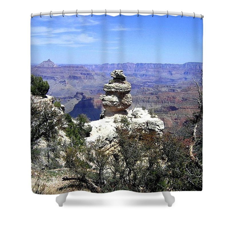 Grand Canyon Shower Curtain featuring the photograph Grand Canyon 33 by Will Borden