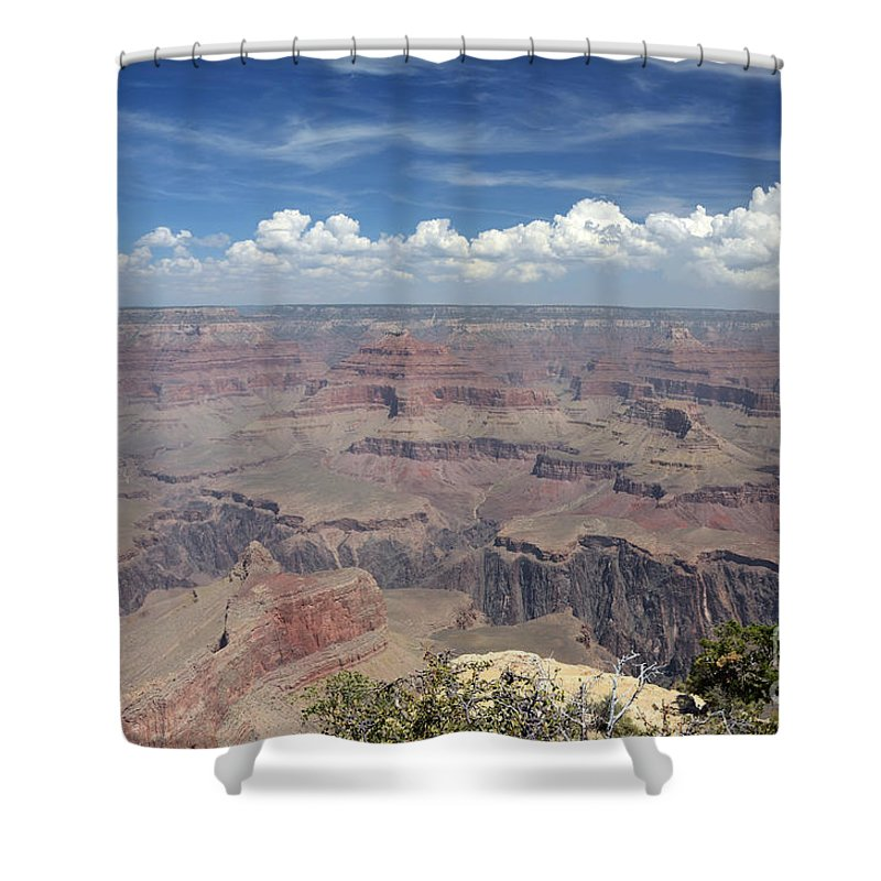 Grand Canyon Shower Curtain featuring the photograph Grand Canyon by Cassie Marie Photography