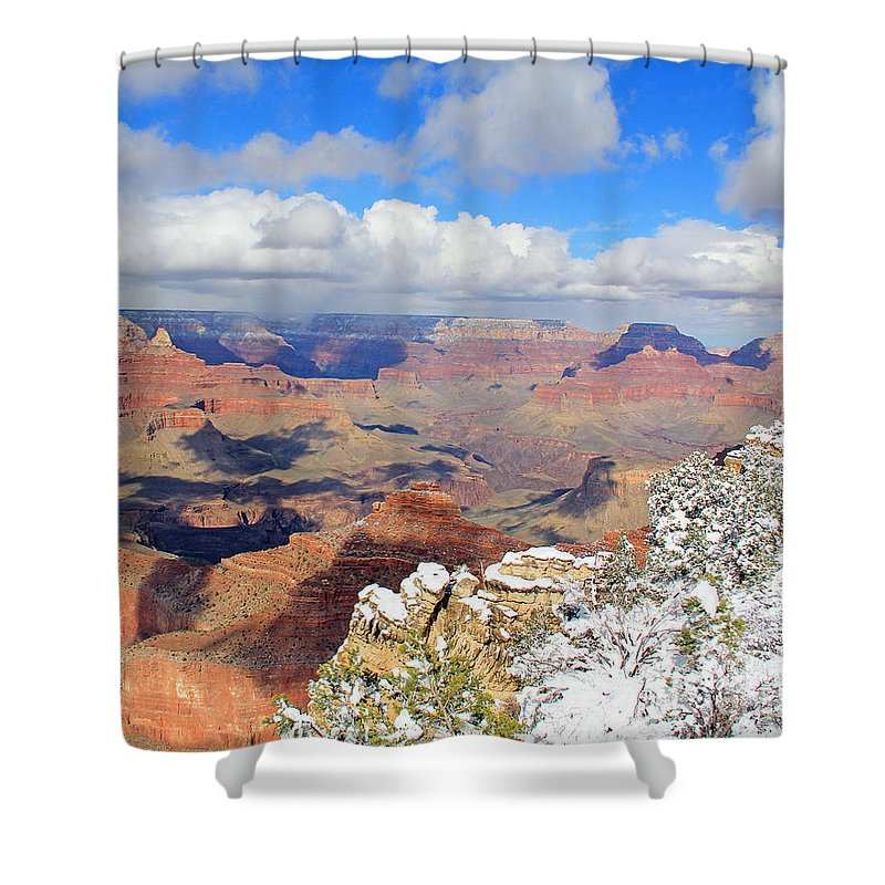 Grand Canyon Shower Curtain featuring the photograph Grand Canyon by Jack Schultz