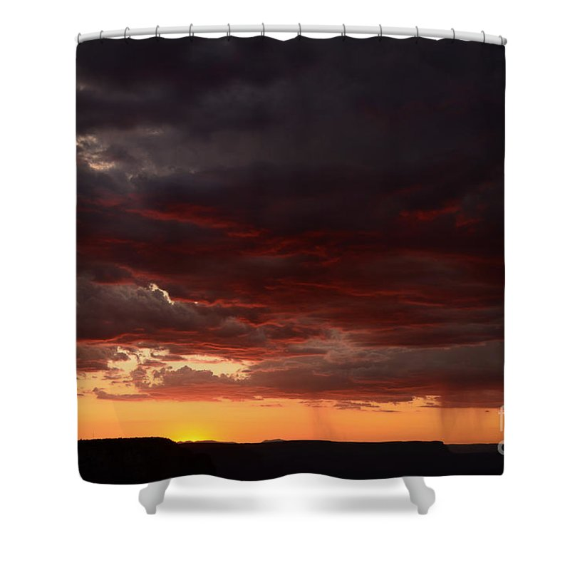 Grand Canyon Shower Curtain featuring the photograph Grand Canyon Sunset by Cassie Marie Photography