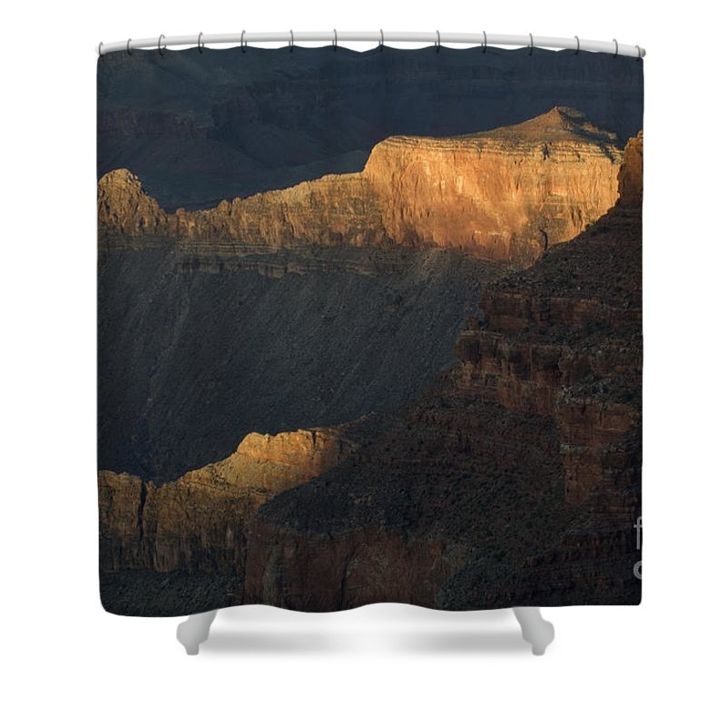 Grand Canyon Shower Curtain featuring the photograph Grand Canyon Vignette 1 by Bob Christopher