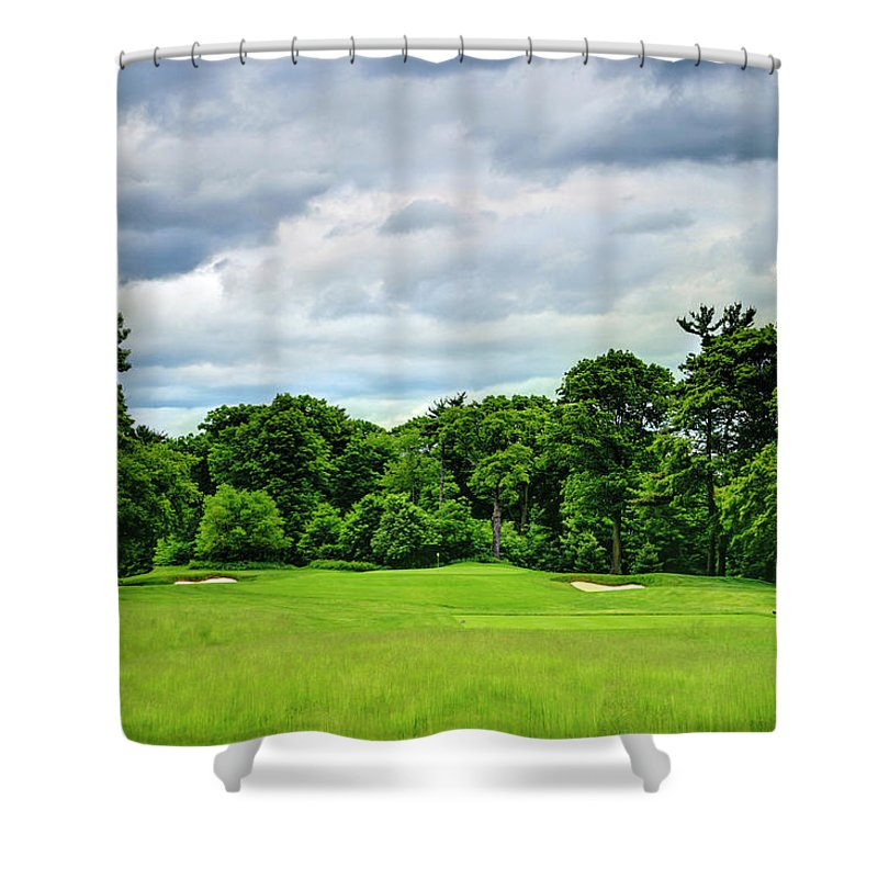 Canada Shower Curtain featuring the photograph Graveyard by Phill Doherty