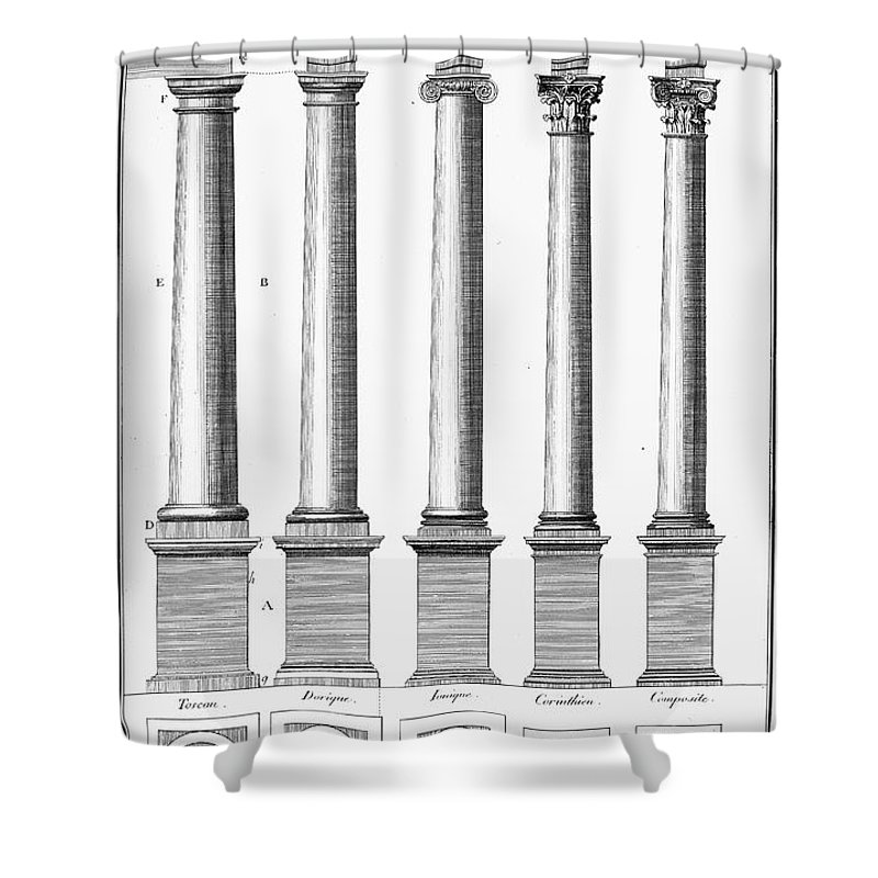 Columns For Sale >> Greek And Roman Columns Shower Curtain For Sale By Granger