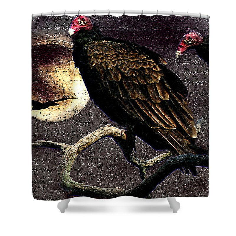 Photography Shower Curtain featuring the photograph Halloween Hunger by Jenny Gandert
