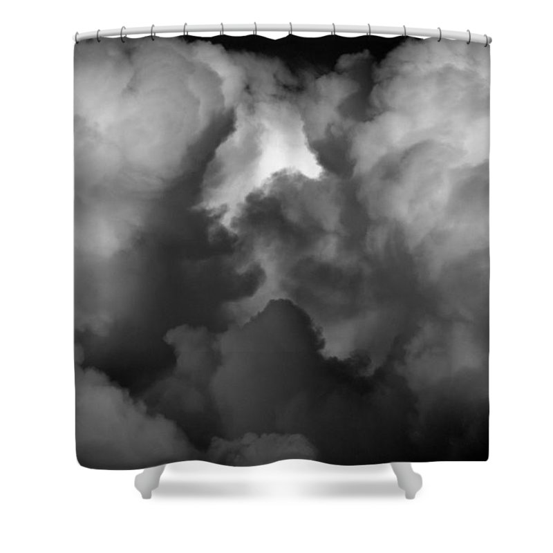 Heavens Gate Shower Curtain featuring the photograph Heavens Gate by Edward Smith