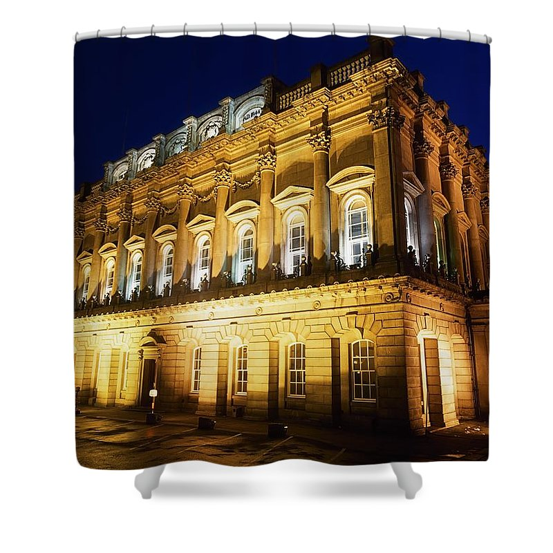 Architecture Shower Curtain featuring the photograph Heuston House, Railway Station, Dublin by The Irish Image Collection