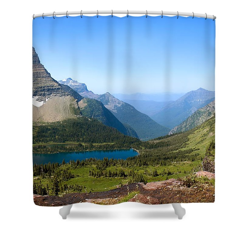 Hidden Lake Shower Curtain featuring the photograph Hidden Lake by Gregory G Dimijian MD