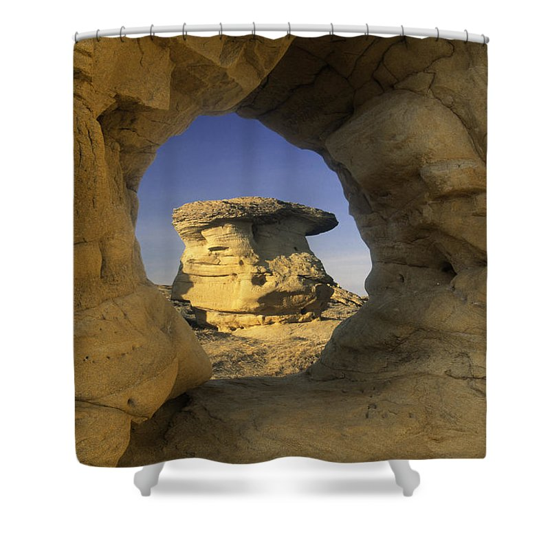 Light Shower Curtain featuring the photograph Hodoo by Darwin Wiggett