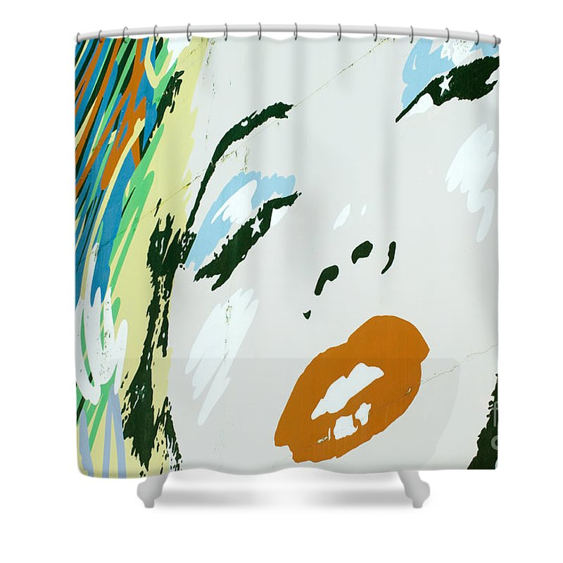 Marilyn Monroe Shower Curtain featuring the photograph Marilyn In Hollywood 3 by Micah May