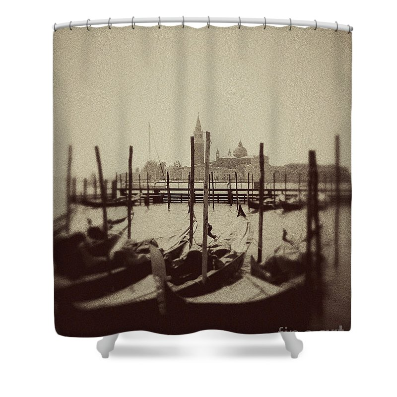 Venice Photo Shower Curtain featuring the photograph Home by Ivy Ho