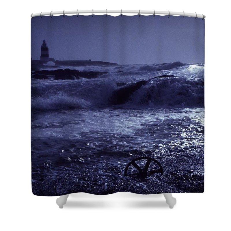 Coast Shower Curtain featuring the photograph Hook Head, County Wexford, Ireland by Richard Cummins