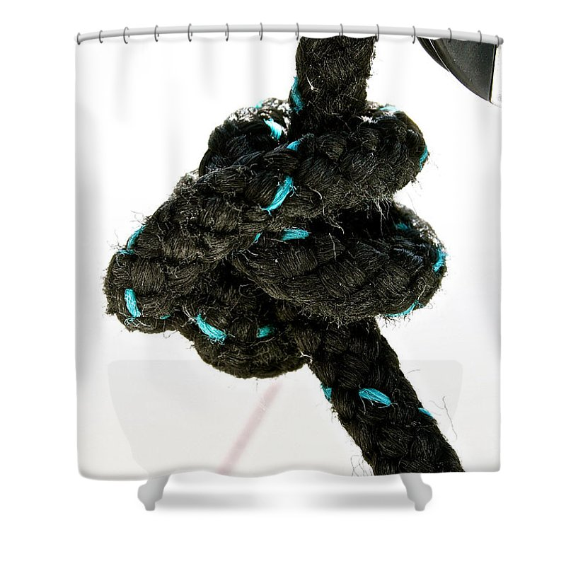 Knot Shower Curtain featuring the photograph Ina Knot by Susan Herber