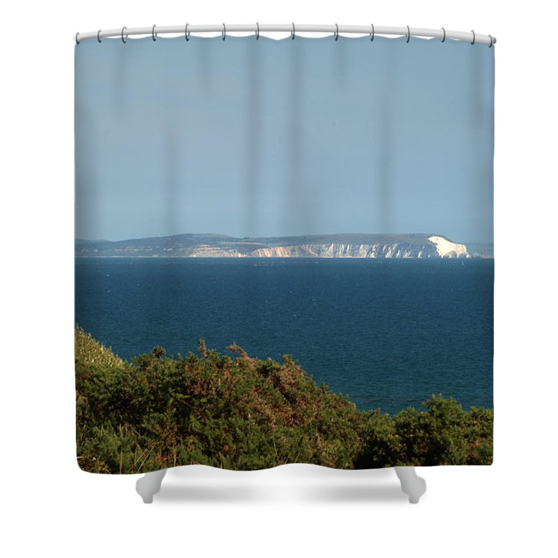 Isle Of Wight Shower Curtain featuring the photograph Isle Of Wight by Chris Day