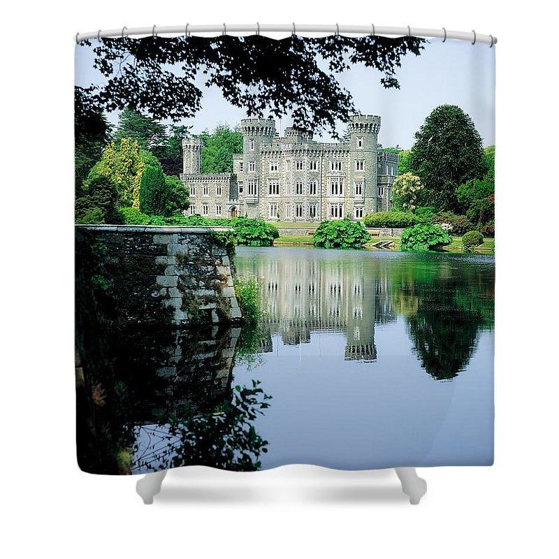 Architecture Shower Curtain featuring the photograph Johnstown Castle, Co Wexford, Ireland by The Irish Image Collection