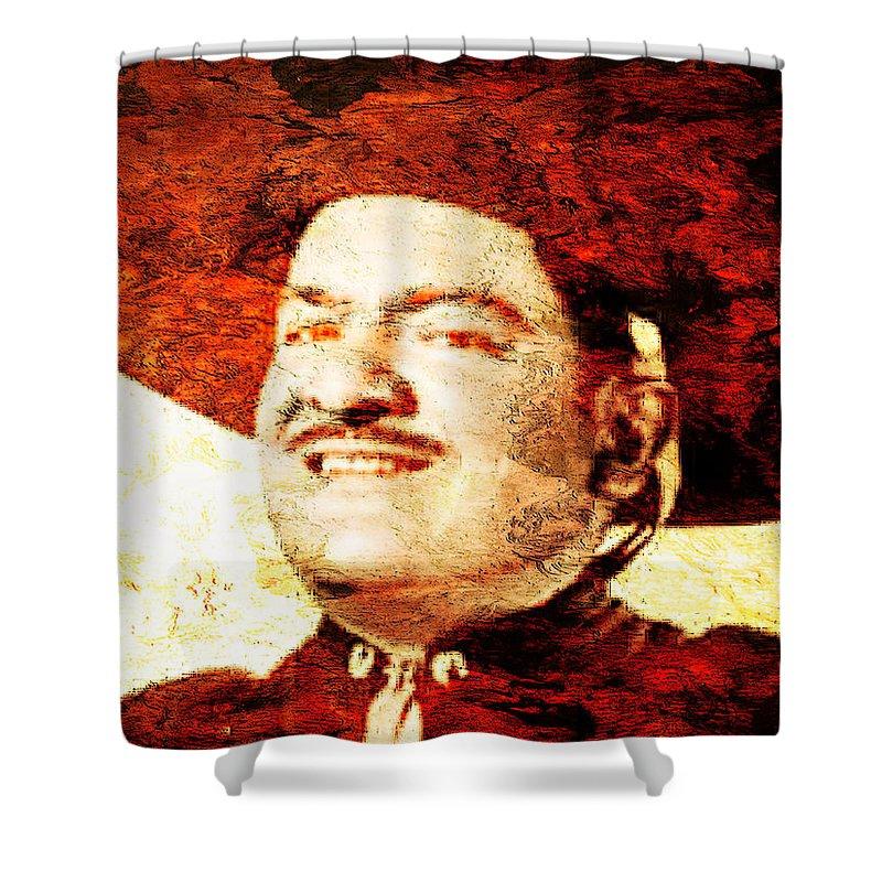Jose Alfredo. Jose Alfredo Jimenez Shower Curtain featuring the photograph Jose Alfredo Jimenez by J - O  N  E