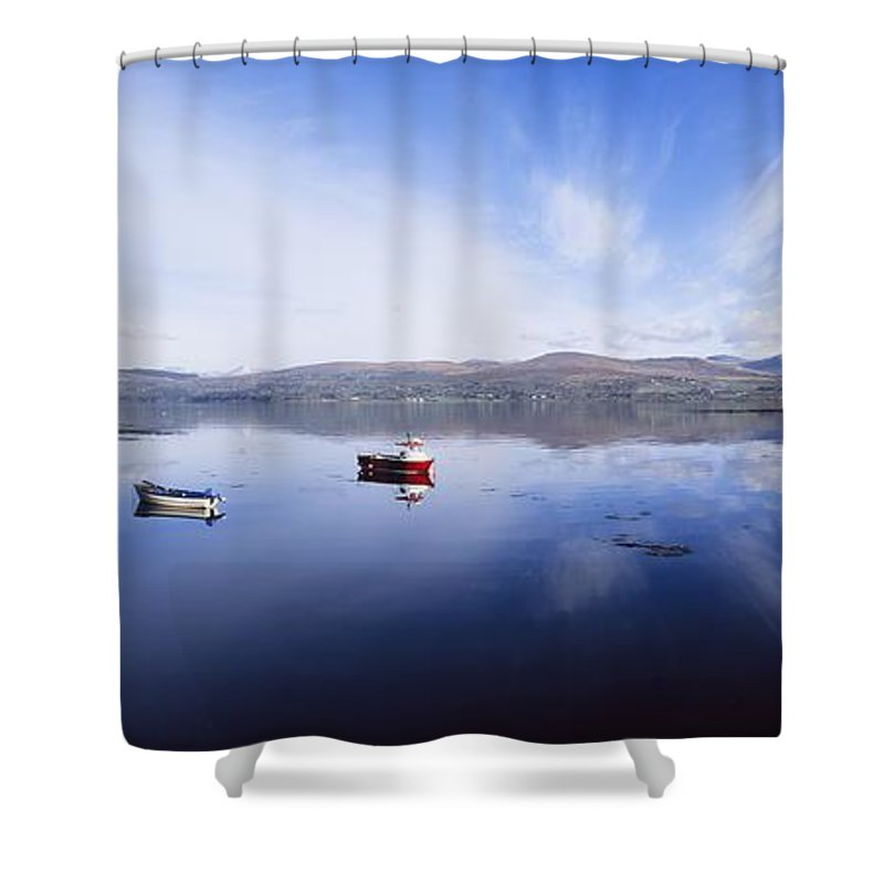 Boat Shower Curtain featuring the photograph Kenmare Bay, Co Kerry, Ireland by The Irish Image Collection