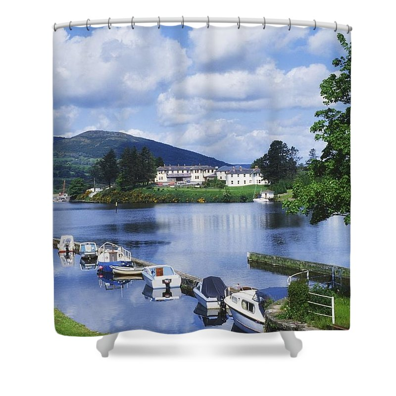Boats Shower Curtain featuring the photograph Killaloe, County Clare, Ireland by Sici
