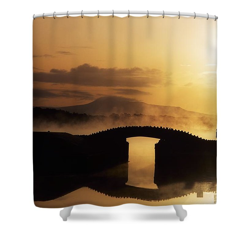 Dawn Shower Curtain featuring the photograph Killarney Golf Course, Co Kerry by The Irish Image Collection