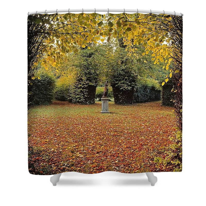 Art Shower Curtain featuring the photograph Killruddery House And Gardens, Bray, Co by The Irish Image Collection