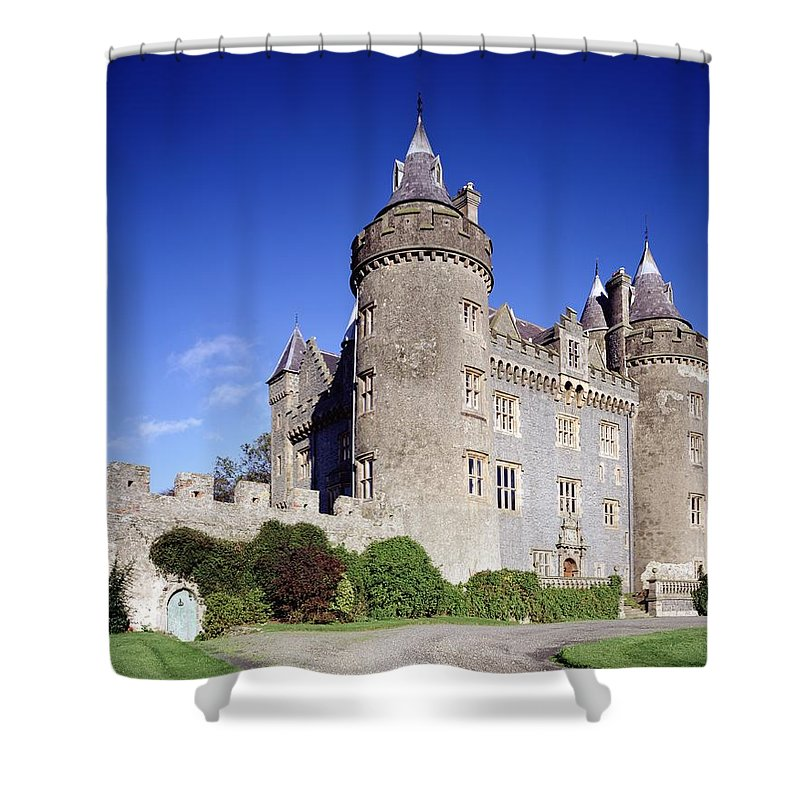 Architecture Shower Curtain featuring the photograph Killyleagh Castle, Co. Down, Ireland by The Irish Image Collection