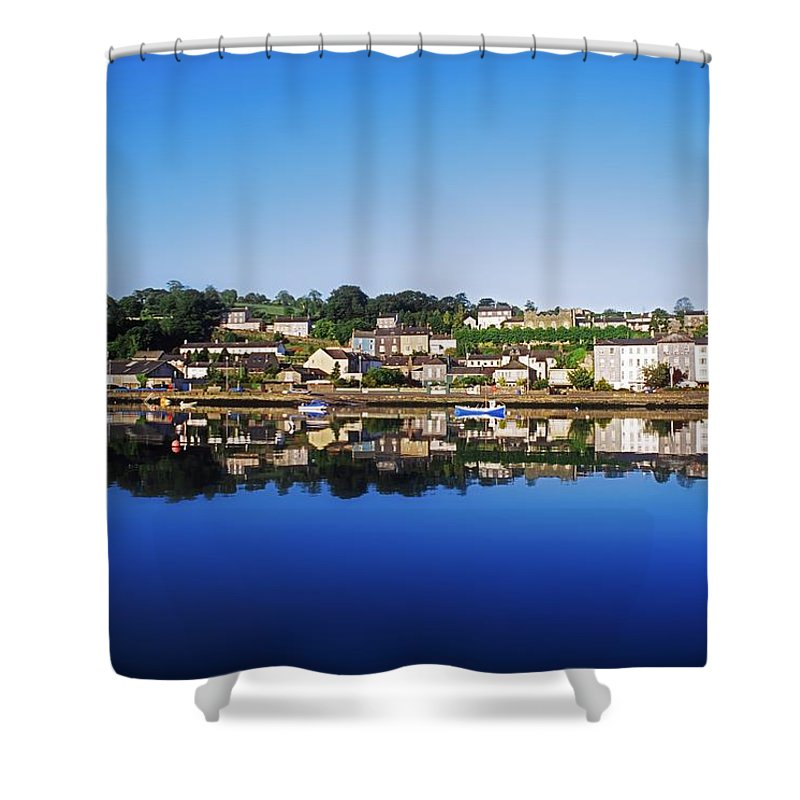 Clear Sky Shower Curtain featuring the photograph Kinsale, Co Cork, Ireland by The Irish Image Collection